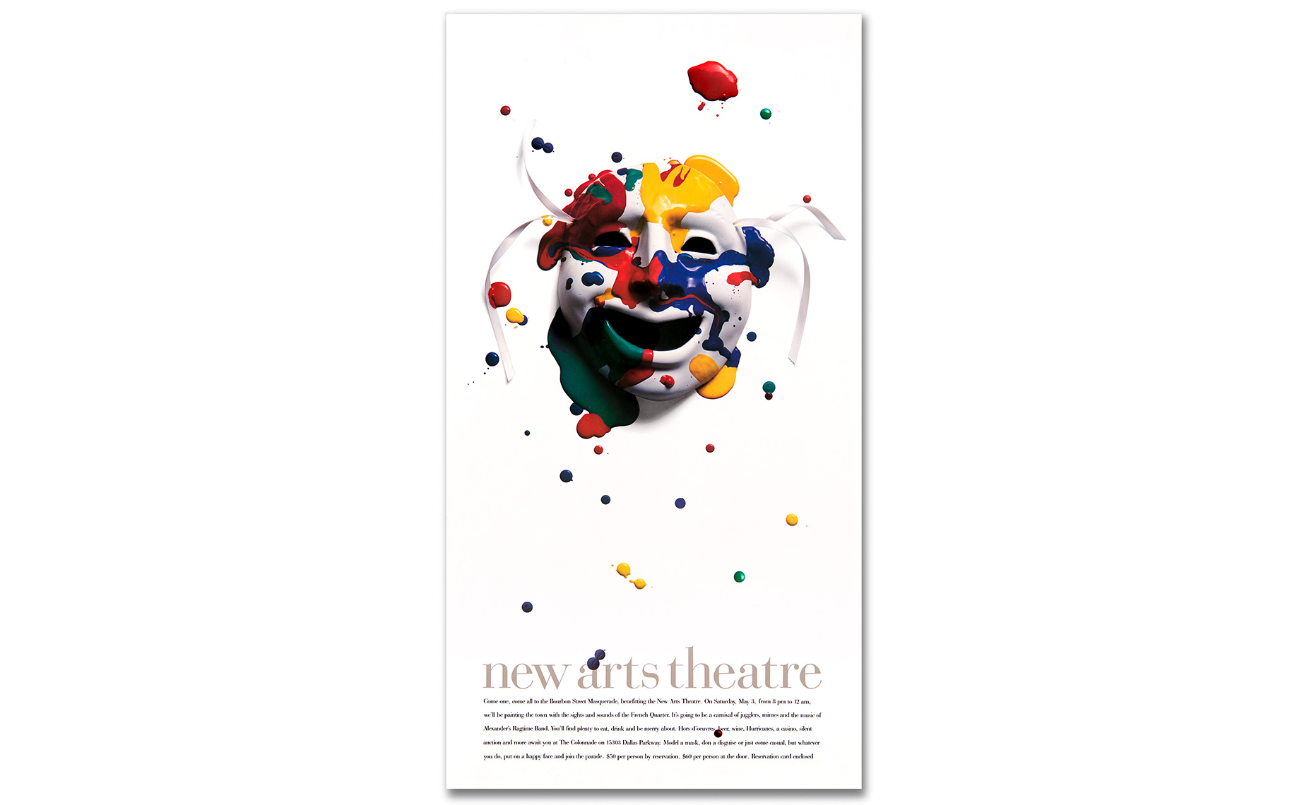 Poster for The New Arts Theatre