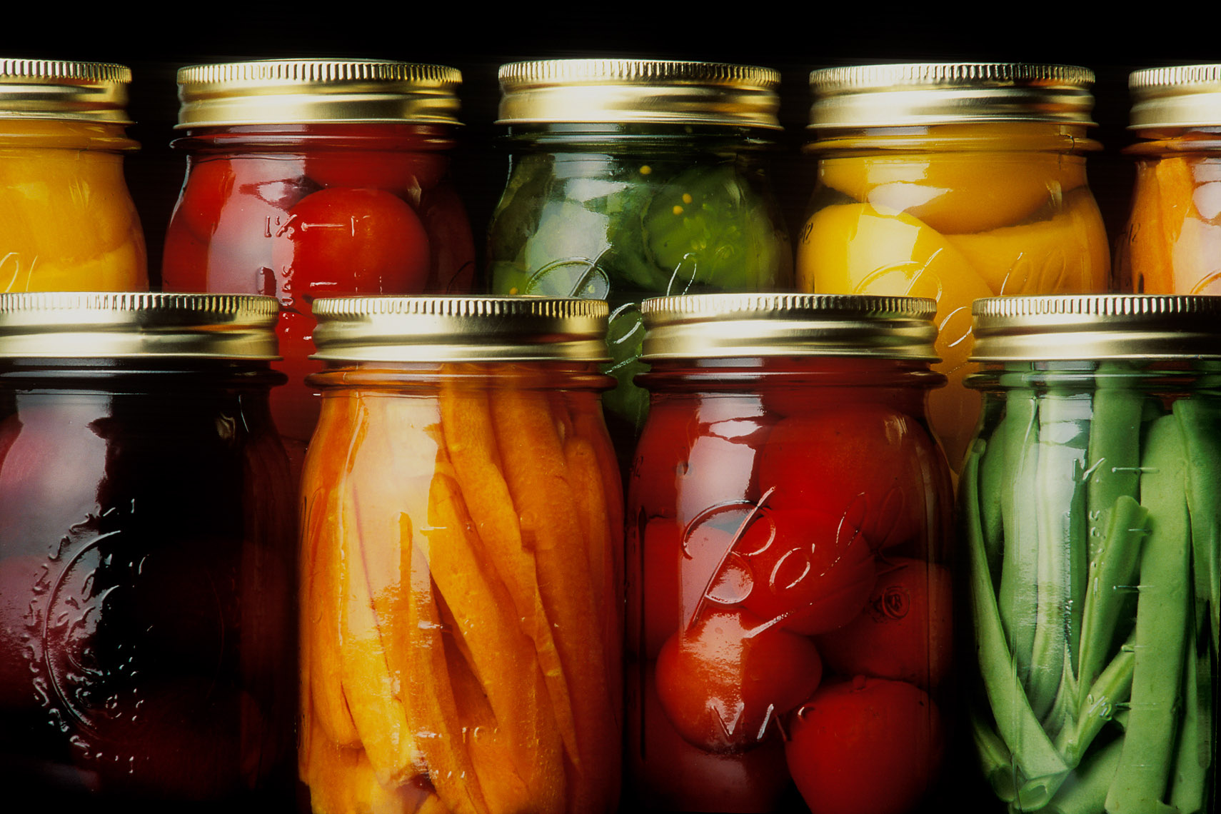 home-canned vegetables